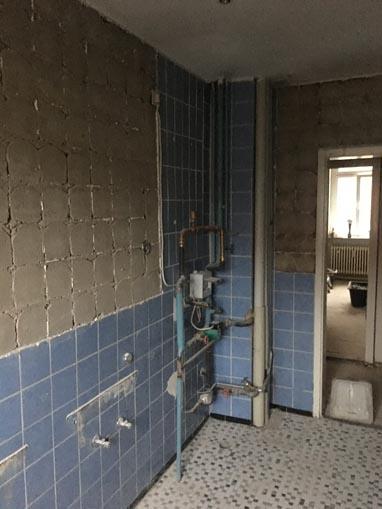 Bad vor der Renovierung aus einer anderen Perspektive